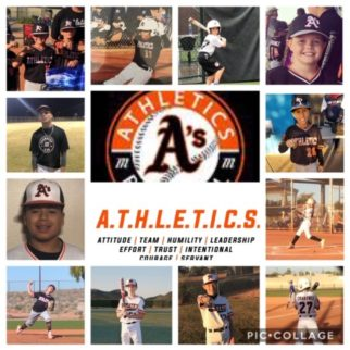 Athletics November Players of the Month—TEAMMATES